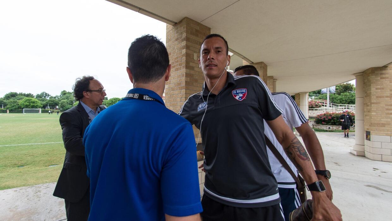 Blas Pérez en viaje, una constante para FC Dallas.