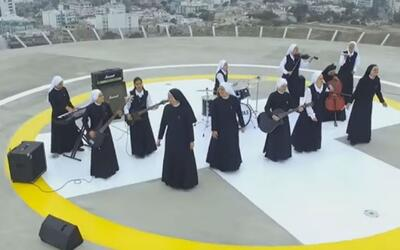 11 monjas peruanas conformaron un grupo de rock y son un éxito en internet