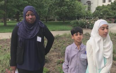 Musulmanes se dan cita en el Capitolio para pedir por sus derechos civil...