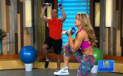 Combate la flacidez con los ejercicios de Claudia Molina