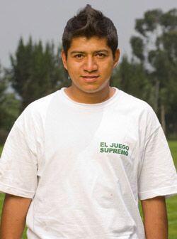 Adán Quiroz, de 23 años, es una habilidoso mediocampista q...