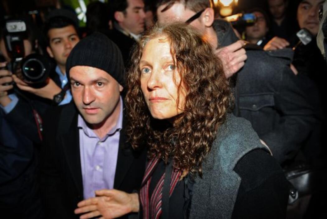 Christine Assange, madre del fundador de WikiLeaks, estuvo presente en l...