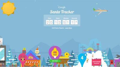 Google te muestra dónde estará Santa Claus la noche del 24 y madrugada d...