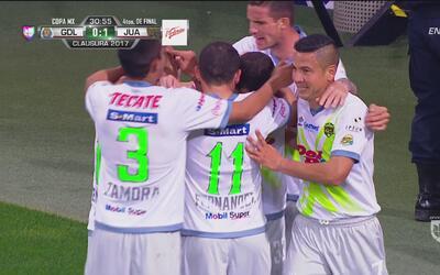 'Osote' del portero de Chivas que aprovechó Da Silva para abrir el marcador