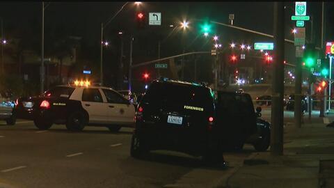 Un hombre armado murió a manos de la policía tras una persecución en Carson