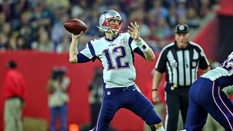Brady es el único QB que ha ganado cinco Super Bowls.