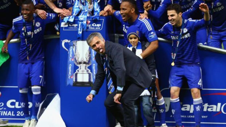 El entrenador portugués acaba de conquistar la Premier League 2014-15 co...