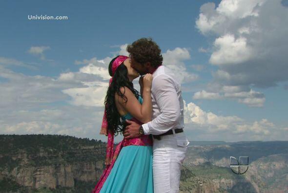 """""""Rodrigo"""" fue el ganón cuando """"Luciana"""" se enamoró de él y lo eligió ant..."""
