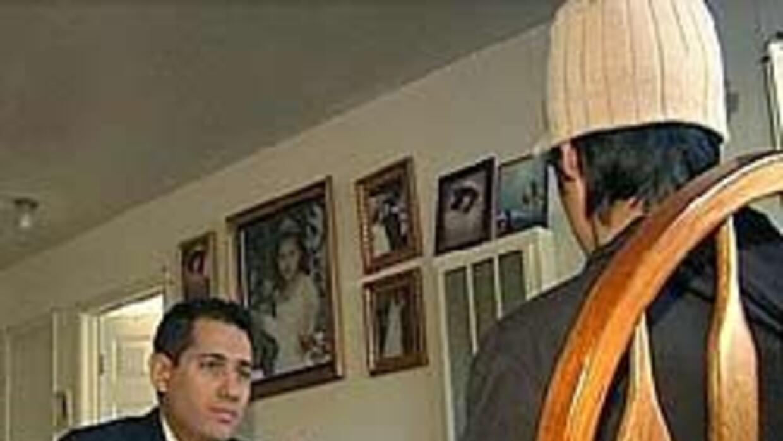 El periodista Flavio Lacayo, de Noticias Univision 14, entrevistó a la v...