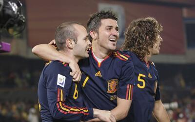 ¿Volverán a celebrar triunfos juntos Villa e Iniesta en Ne...