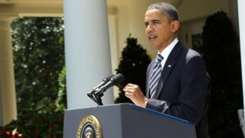 El mandatario firmó en la Oficina Oval, de manera privada, la ley apoyad...