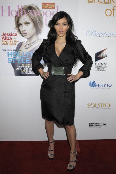Kardashian ha participado en varios reality shows; por esta razón es lla...