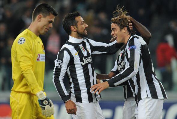 Juventus tampoco se midió y derrotó por 4-0 al Nordsjaelland danés.