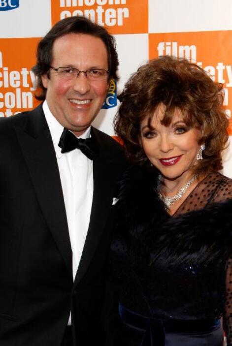 """Joan Collins es una de las grandes divas de Hollywood. La actriz de """"Dyn..."""
