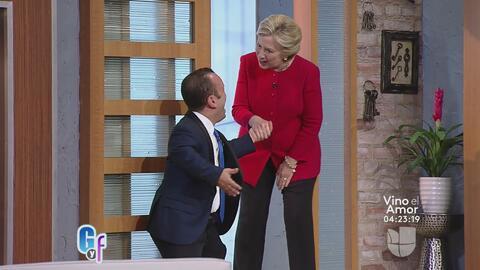 Hillary Clinton se convierte en la primera candidata presidencial en par...
