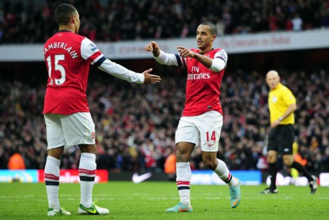 En el primer partido de la jornada el Arsenal goleó al Tottenham en el '...