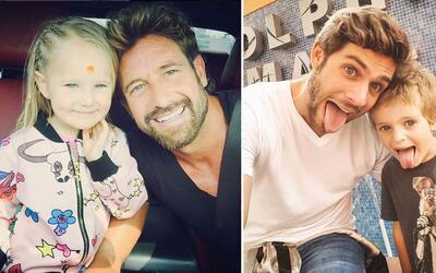 papas famosos con hijos