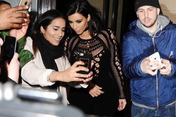 Fue una gran noche para la Kardashian.