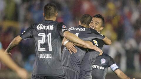 En lluvia de goles Toluca venció a León y avanzó a cuartos de final de l...
