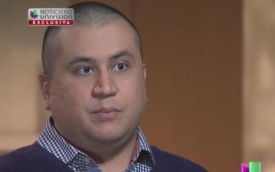 George Zimmerman habla con Univision