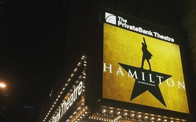 """""""Hamilton"""" Broadway en Chicago"""