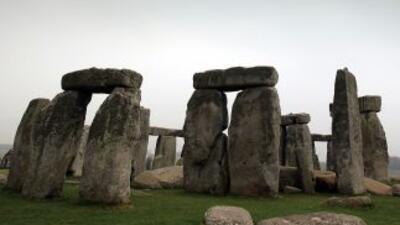 El monumento megalítico de Stonehenge, en el Reino Unido, forma parte de...