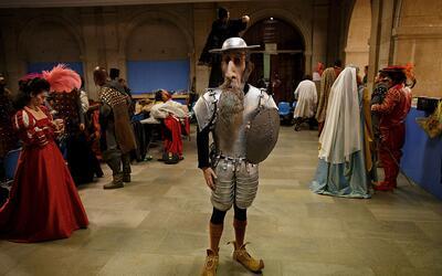 Don Quijote es uno de los personajes emblemáticos de la literatura unive...