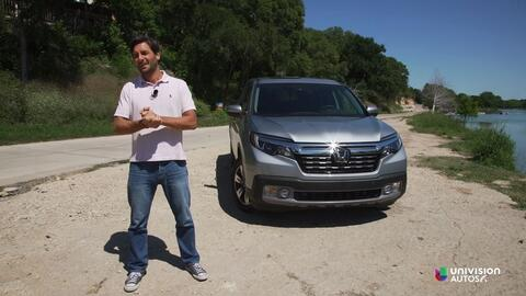 Honda Ridgeline 2017 - Prueba A Bordo [Full]