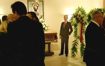 Familiares y amigos le dieron el último adiós a Guillermo Benites