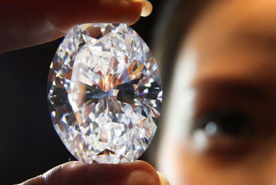 Descubierto en 2011 en las minas más profundas de Sudáfrica, el diamante...