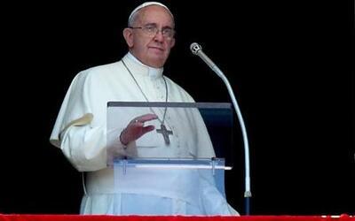 """Papa Francisco: """"No se puede hacer guerra en nombre de Dios"""""""