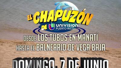 Este domingo tienes una cita con el Chapuzón de Univision