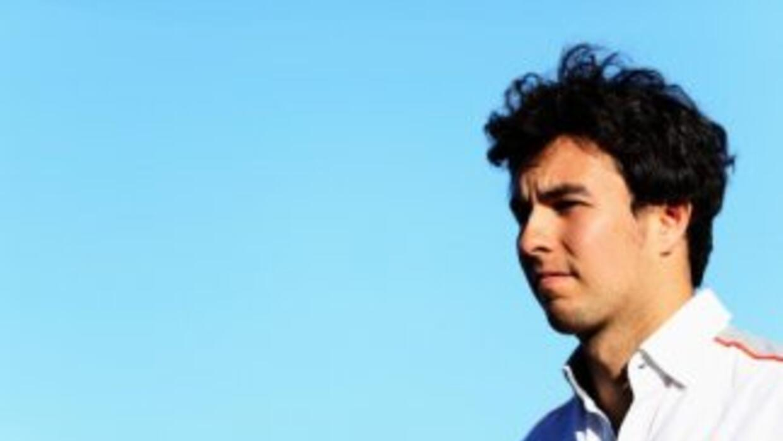 Sergio Pérez tranquilo por la salida de McLaren.