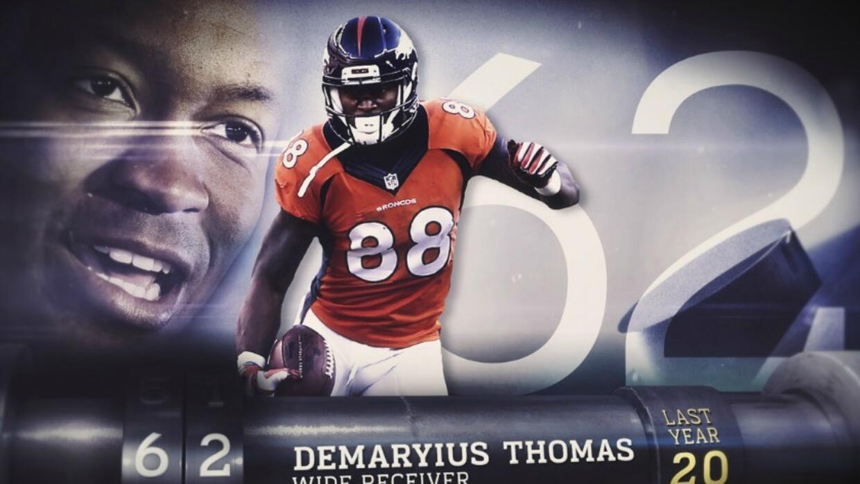 Top 100 Jugadores del 2016: (Lugar 62) WR Demaryius Thomas