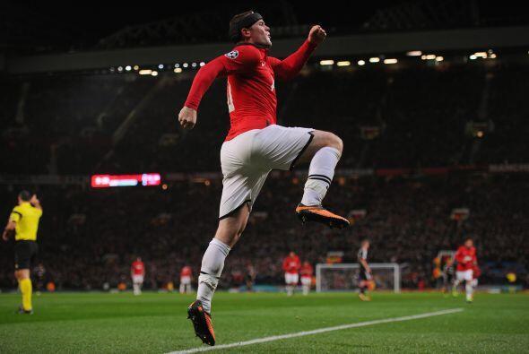 Pero Rooney estaba desatado, ponía el tercer gol para los 'Devils...