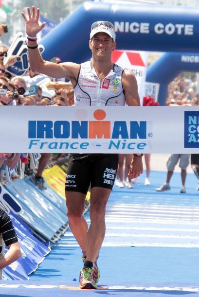 Marcel Zamora Pérez es un triatleta profesional español, m...