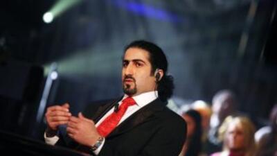 Omar Bin Laden, uno de los hijos del terrorista Osama Bin Laden.