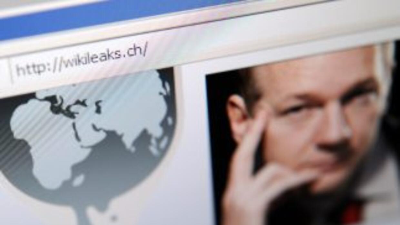 Julian Assange aseguró en un diálogo en línea que WikiLeaks ha tomado me...