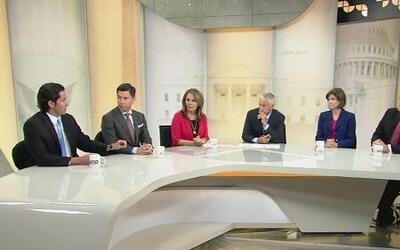 Jorge Ramos y María Elena Salinas  analizan las elecciones con la mesa r...