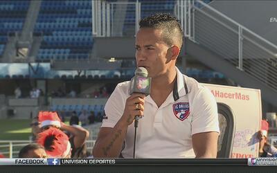 """Michael Barrios: """"De niño ha sido un sueño para mí ser goleador de un eq..."""