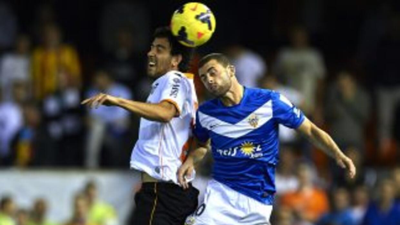 Valencia no supo cuidar su ventaja y acabó siendo empatado en su visita...