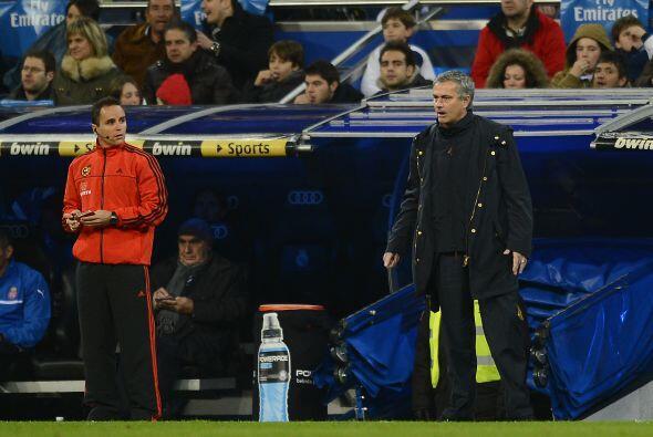 Mourinho no está acostumbrado a vivir una situación de est...