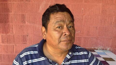Gustavo López refleja el sentir de los inmigrantes con la expresi...