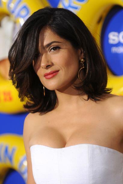 Salma Hayek ha estado al frente de varios programas de TV en EU, como 'U...