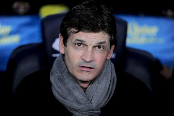 """El 14 de abril de 2014, el ex técnico de Barcelona, Francesc """"Tito"""" Vila..."""