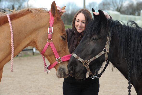 A través de este método, Amy libera a los animales de estr...