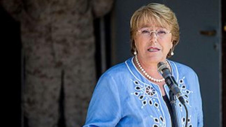 Michelle Bachelet asume la presidencia de Chile por segunda vez el 11 de...