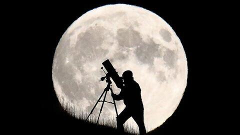 El eclipse parcial que ocurre durante esta 'Luna de la Cosecha'