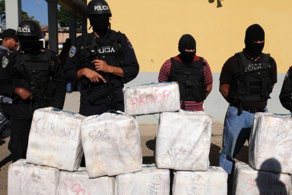 La embajada de Estados Unidos en Guatemala estima que por la ruta centro...