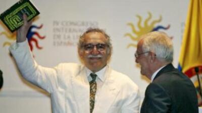 El escritor colombianoGabriel García Márquez.